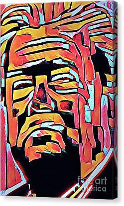 Steve Bannon Canvas Print by Michael Volpicelli