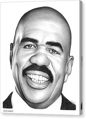 Steve Harvey Canvas Print by Greg Joens
