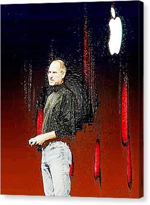 Steve Jobz 5 Canvas Print by Piety Dsilva