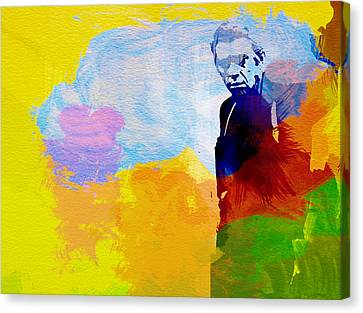 Movie Art Canvas Print - Steve Mcqueen by Naxart Studio