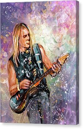 Steve Morse Canvas Print