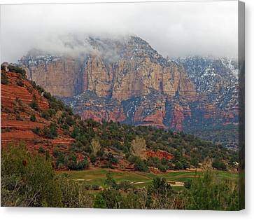 Steven Canyons Golf Course Canvas Print by James Peterson