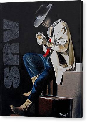 Stevie Canvas Print by Ferrel Cordle