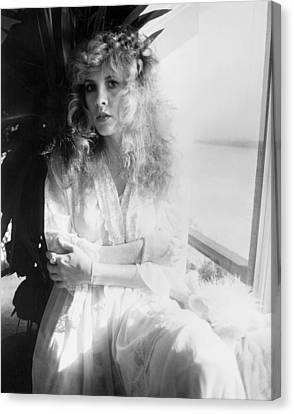 Stevie Nicks 1981 No.2 Canvas Print by Chris Walter