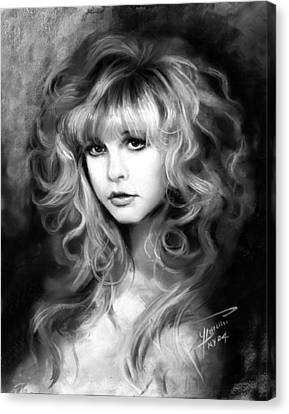 Stevie Nicks Canvas Print