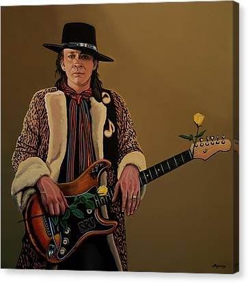 Stevie Ray Vaughan 2 Canvas Print