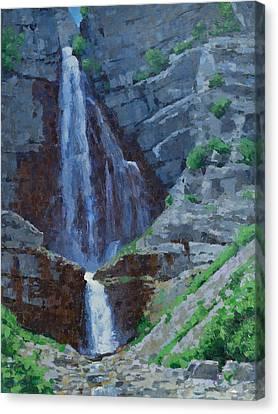 Stewart Falls Canvas Print