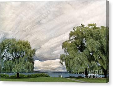 Finger Lakes Canvas Print - Stewart Park Summer by Michele Steffey