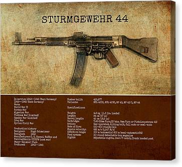 Stg 44 Sturmgewehr 44 Canvas Print by John Wills