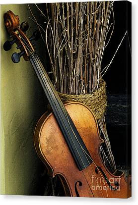 Sticks And Strings Canvas Print