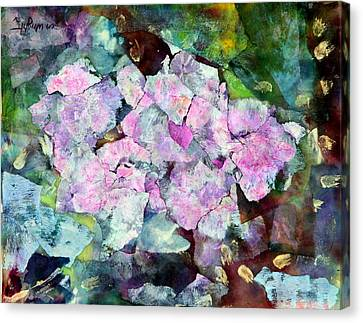 Sticky Geranium Canvas Print by Don  Wright