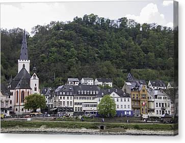 Stiftskirche Sankt Goar Germany Canvas Print