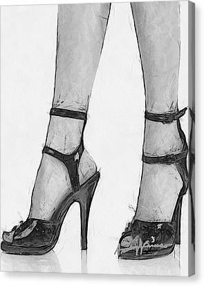 Stiletto Canvas Print by Anthony Caruso