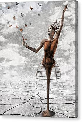 Surreal Art Canvas Print - Still Believe by Jacky Gerritsen