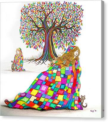 Still Dreaming Canvas Print by Nick Gustafson