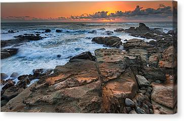 Pacific Coast States Canvas Print - Still Golden by Robert Bynum