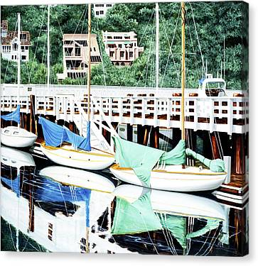 Still, In Sausalito, Prints From Original Oil Painting Canvas Print