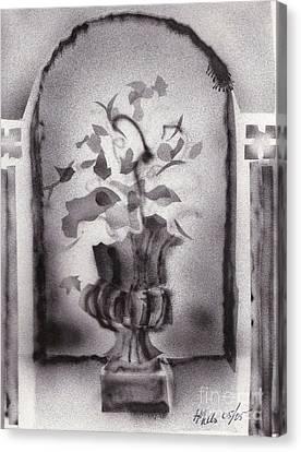 Gladiolas Canvas Print - Still Life 0505 01a by Henry Mills