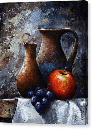 Still Life 11 Canvas Print by Emerico Imre Toth