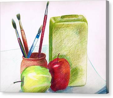 Still Life 2 Canvas Print by Zara GDezfuli