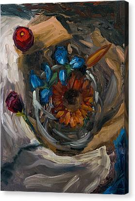 Still Life Abstract Canvas Print