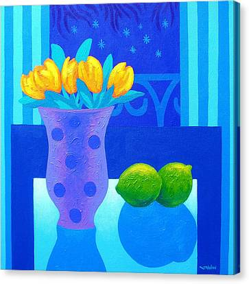 Still Life At Window IIi Canvas Print by John  Nolan