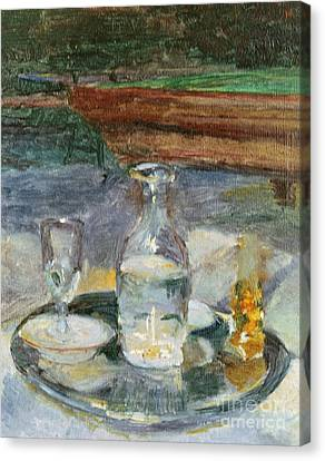 Still Life, Billiard, 1882 Canvas Print by Henri de Toulouse-Lautrec