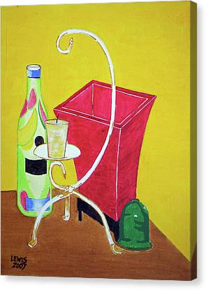 Still Life Canvas Print by Christopher Lewis