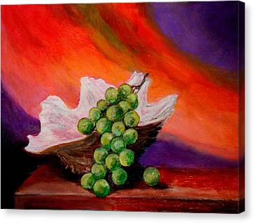 Still Life  Canvas Print by Constantinos Charalampopoulos