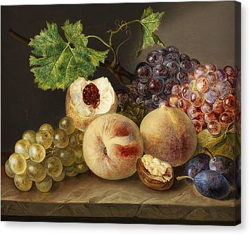 Still Life Canvas Print by Franz Xaver Pette