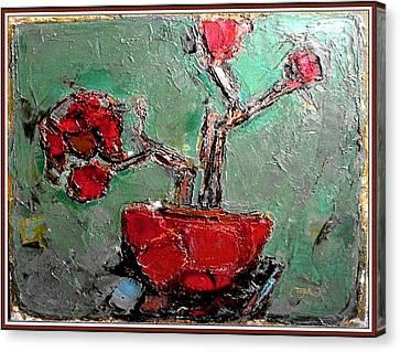 still life in red SLIR2 Canvas Print by Pemaro