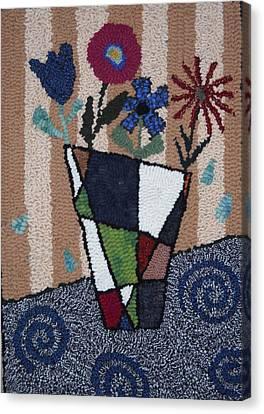 Still Life Line Play Canvas Print by Maureen McIlwain