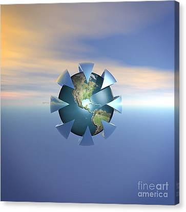 Terra Firma Canvas Print - Still Life On Earth by Phil Perkins