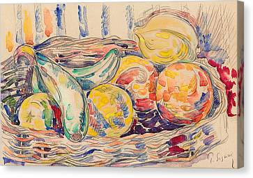 Signac Canvas Print - Still Life  by Paul Signac
