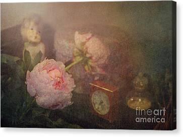 Still Life Shelf Canvas Print by Jasna Buncic