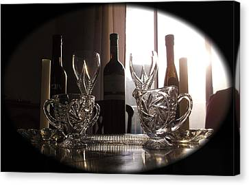 Still Life - The Crystal Elegance Experience Canvas Print
