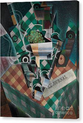 Still Life With Checked Tablecloth, 1915 Canvas Print by Juan Gris