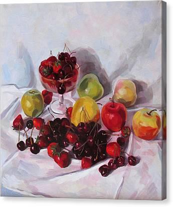 Still Life With Merry  Canvas Print by Kateryna  Bortsova