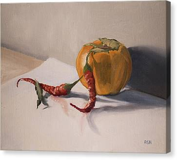Still Life With Produce Canvas Print