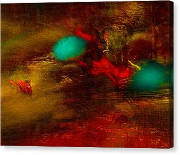 Still Life With Squiggles Canvas Print by James MacColl