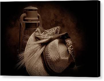 Bandana Canvas Print - Still Life With Wheat II by Tom Mc Nemar