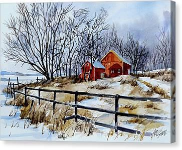 Still Some Snow Canvas Print by Art Scholz
