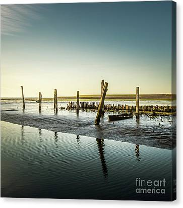 Canvas Print featuring the photograph Still Standing by Hannes Cmarits