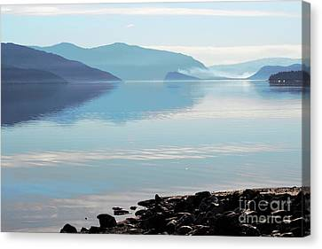 Canvas Print featuring the photograph Still by Victor K