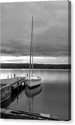 Keuka Canvas Print - Still Waters by Steven Ainsworth
