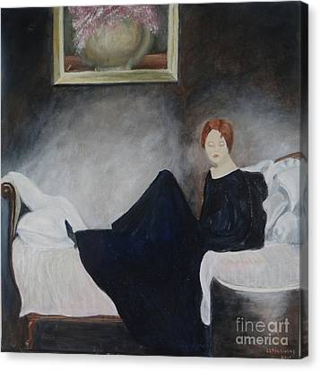 Stillness Of Being Canvas Print