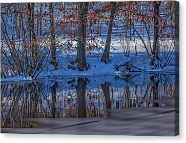 Old Mine Canvas Print - Stillness Reflects by Karol Livote