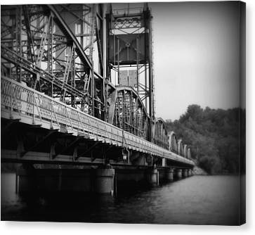 Stillwater Bridge  Canvas Print by Perry Webster