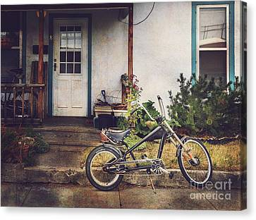 Sting Ray Bicycle Canvas Print by Craig J Satterlee