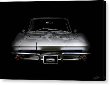 Corvette Stingray Canvas Print - Sting Ray by Peter Chilelli